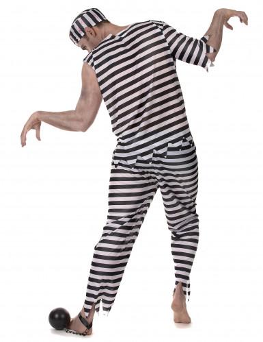 Disfraz de preso zombie hombre-2