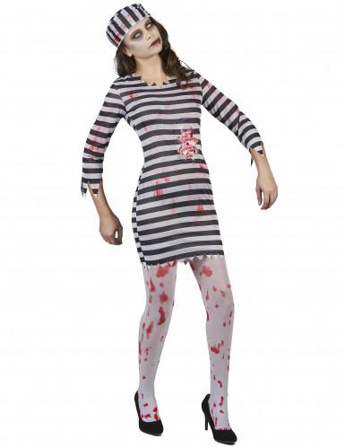 Disfraz de prisionera zombie mujer-1