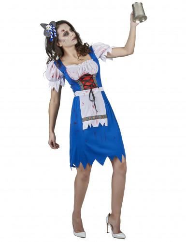 Disfraz de bávara zombie mujer-1