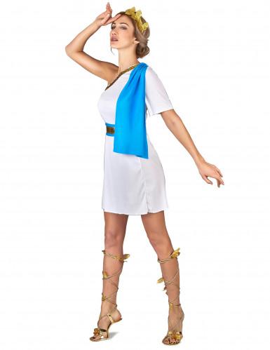 Disfraz emperatriz griega azul mujer-1