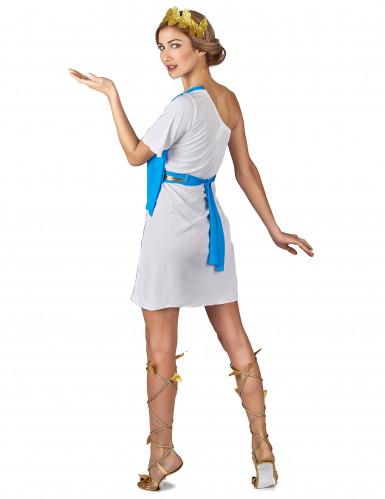 Disfraz emperatriz griega azul mujer-2