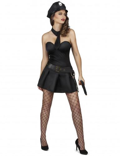 Disfraz de agente de policía sexy mujer-1