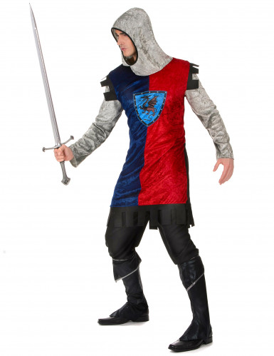 Disfraz de caballero dragón hombre-1