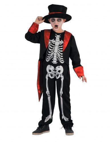 Disfraz esqueleto Chic Niño