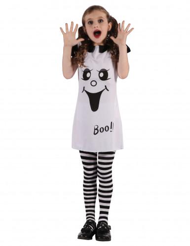 Disfraz de fantasma divertido niña
