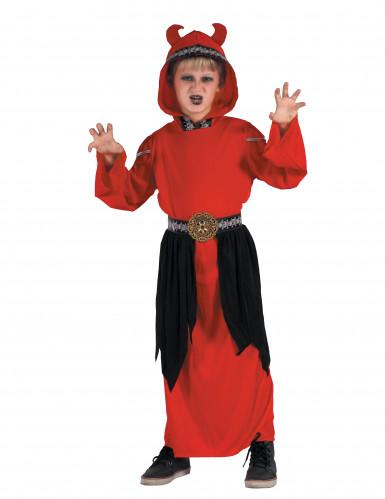 Disfraz de demonio secta niño