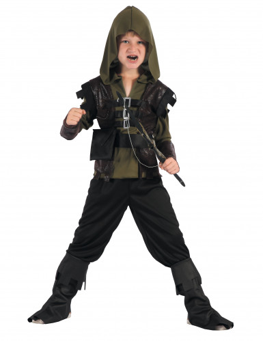 Traje de cazador arquero niño