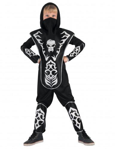 Disfraz de Ninja con Calavera Niño