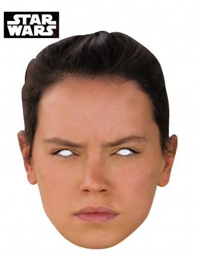 Máscara de cartón Rey - Star Wars VII™
