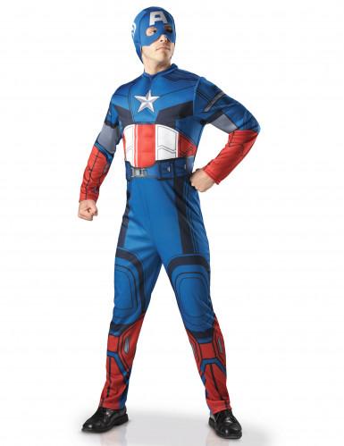 Disfraz de Capitán América deluxe adulto - Los Vengadores™