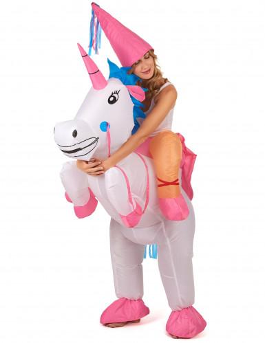 Disfraz de unicornio hinchable adulto-1