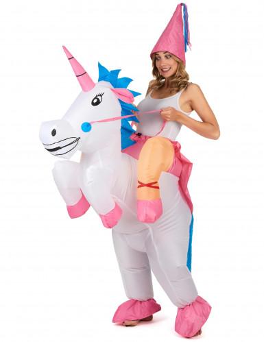 Disfraz de unicornio hinchable adulto-2