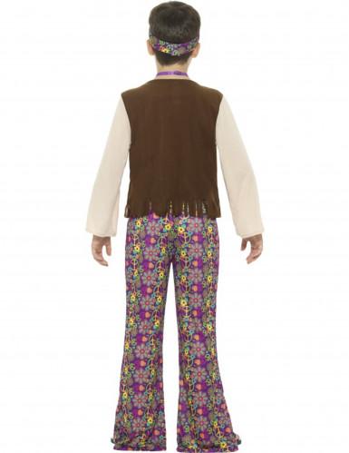 Disfraz Hippie peace para niño-1