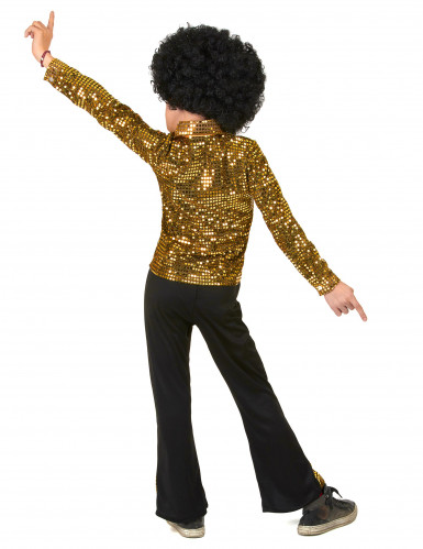 Disfraz Disco Dorado niño  -2