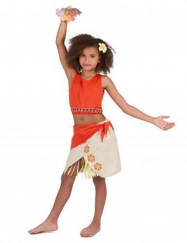 Disfraz hawaiana niña-1