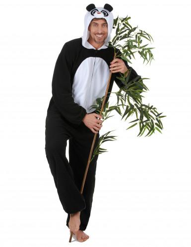 Disfraz de panda adulto hombre