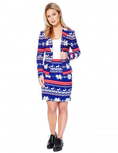 Disfraz Mrs. Snow mujer Opposuits™ Navidad