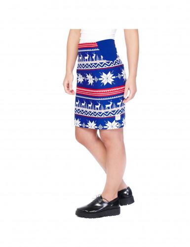 Disfraz Mrs. Snow mujer Opposuits™ Navidad-1