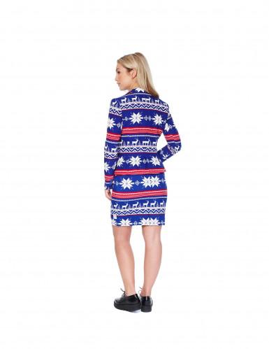 Disfraz Mrs. Snow mujer Opposuits™ Navidad-2