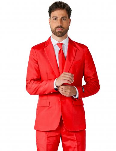 Traje Mr Solid Rojo Hombre Suitmeister™-1