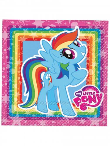 Servilletas de papel My Little Pony™ 33x33