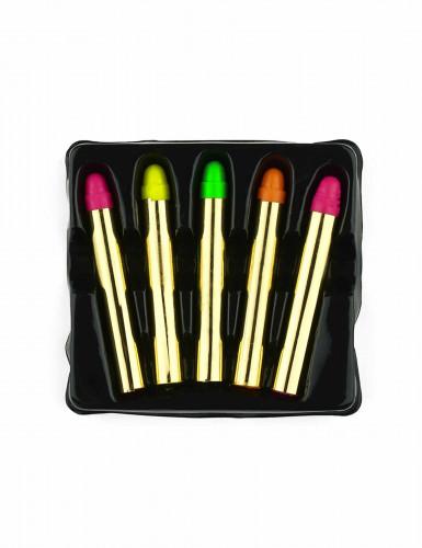 5 Lápices maquillaje fluorescente