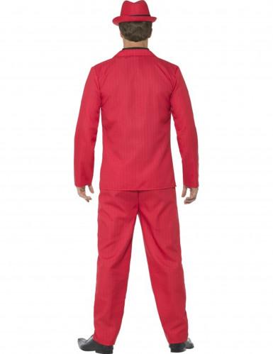 Disfraz de gánster rojo hombre-2