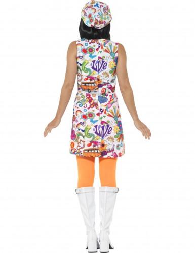 Disfraz hippie años 60 para mujer-1