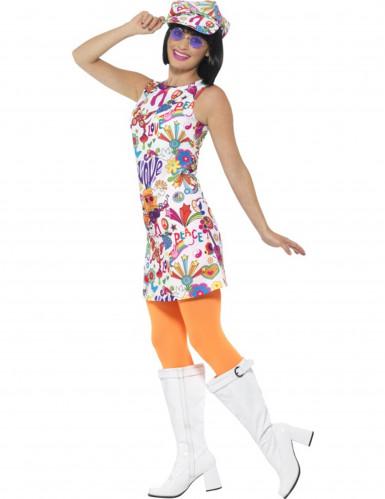 Disfraz hippie años 60 para mujer-2