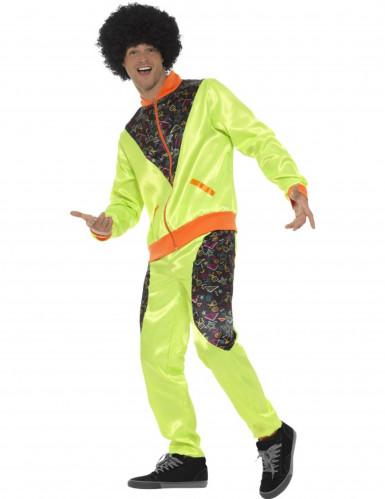Disfraz chándal años 80 verde hombre: Disfraces adultos,y disfraces originales baratos - Vegaoo
