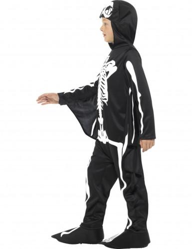 Disfraz esqueleto murciélago niño Halloween-1