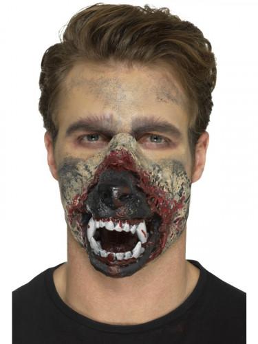 Prótesis gomaespuma látex boca hombre lobo adulto Halloween-2