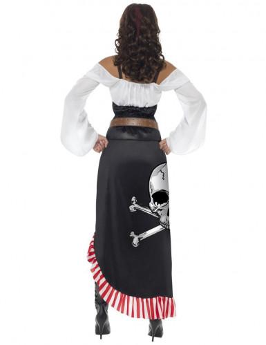 Disfraz miss sexy calavera pirata mujer-2