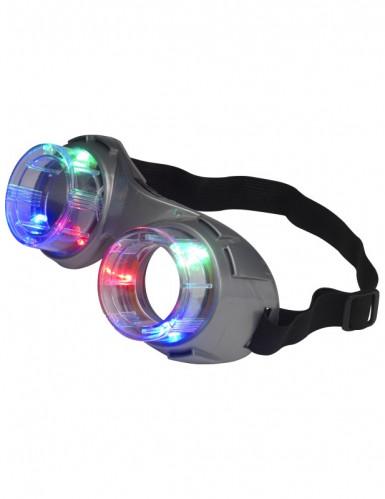 Gafas gris luminosas adulto