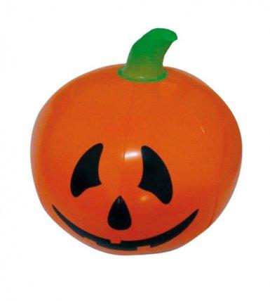 Decoración Halloween calabaza inflable 110 cm