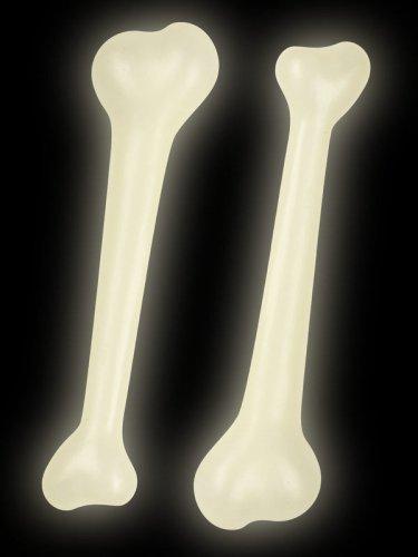 Lote de 2 huesos fosforescentes-1