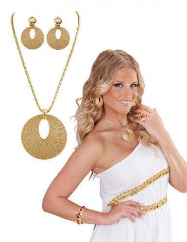 Joyas doradas romanas mujer
