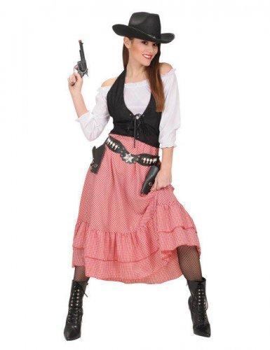 Disfraz jefe del Oeste mujer
