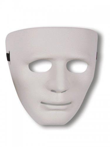 Máscara fantasma blanco