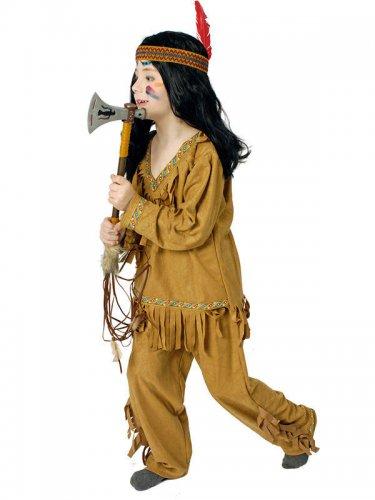 Disfraz indio con flecos niño
