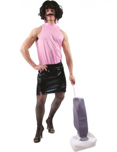 Disfraz limpiadora adulto