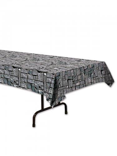 Mantel efecto piedras grises 137 x 274 cm