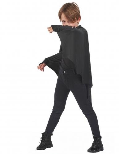 Capa vampiro murciélago negro niños Halloween-1