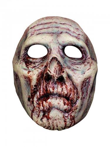 Máscara de zombie ensangrentada adulto