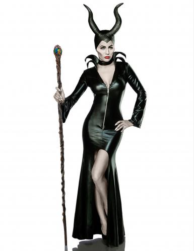 Disfraz bruja negra sexy mujer