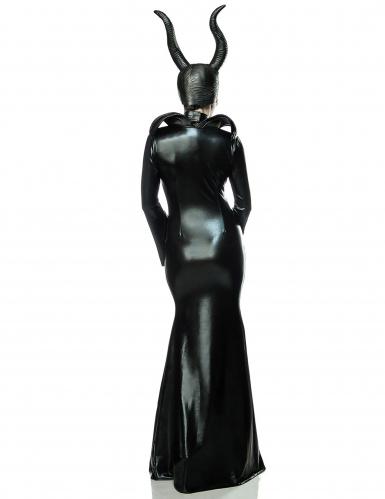 Disfraz bruja negra sexy mujer-1