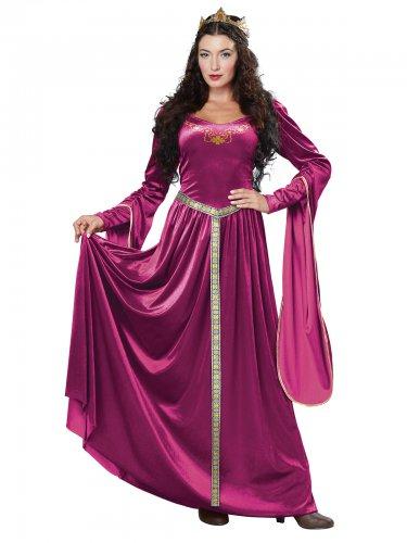 Disfraz vestido princesa medieval mujer