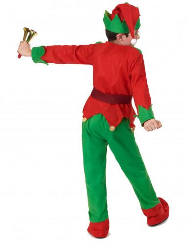 Disfraz completo elfo de Navidad niño-3