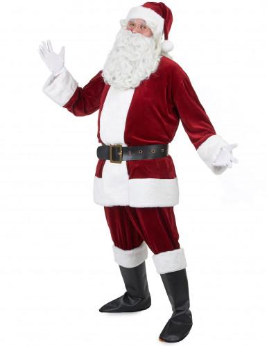 Disfraz de Papá Noel super lujo adulto-1