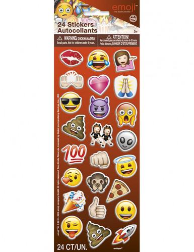 24 Pegatinas Emoji™divertidas